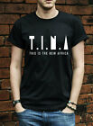 T.I.N.A this is new africa tshirt hip hop swag music africa grime K027