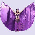 Egyptian Egypt Belly Dance one piece 360°  Isis Wings ( no stick ) 10 colors