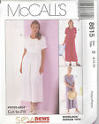 McCall's 8615  Misses' Dress   Sewing Pattern