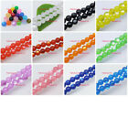 Acrylic Cat's Eye Round Loose Spacers Beads Pick 12color-1 or Mixed 8mm, 10mm M0
