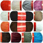 Feza ALLORA Fishnet Ruffled Scarf Yarn ~HIGH QUALITY~ Your Choice of Solid Color