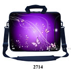"Laptop Messenger Bag Case Sleeve Shoulder Strap Fit Asus Dell Acer 15.4"" 15.6"""