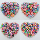Mixed Polymer Fimo Clay Round Loose Spacer Beads DIY 6mm,8mm,10mm,12mm,15mm,20mm