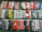 Job lot mixed pack Bias binding 25mm wide tape cotton pattern / plain 5 mts