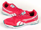 Puma Faas 350 S Wn's Pink-Blue Grass-White Lightweight Sports Running 186141 12