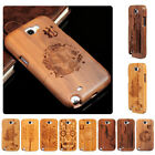 Bamboo Combo Wood Gadget Hard Back Case Wooden Case Cover For Samsung Note II