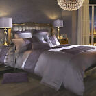 Kylie Minogue At Home Ribble Amethyst Bed Linen...Free Next Day Despatch