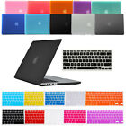 """Hard Case Keyboard Cover Screen Protector for Macbook Pro 15"""" Retina 15"""" Laptop"""