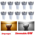 4 6 10 X Dimmable GU10 4w led Spotlight DAY/WARM WHITE LIGHT BULBS LAMPE Bulb UK