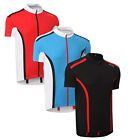 SUZU PRO Cycling Bicycle Bike Top Jersey Shirt Short Sleeve Full Zip Polyester