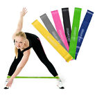 YOGA RESISTANCE BAND LOOP PILATES STRAP HOME GYM FITNESS EXERCISE WORKOUT