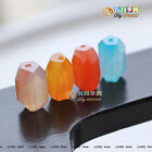 One 15*10 mm Nugget Shape Natural Brazil Agate Gemstone Bead Four Colors -T007