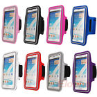 Running Sports Armband Case Cover for Samsung Galaxy Note 2 II N7100 3 III N9000