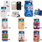 New Colorful PU Leather Flip Stand Case Cover For Samsung Galaxy S4 IV i9500