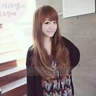 Brown Black Fashion Wig Women Lady Cosplay Party Long Curly Wavy Hair Full Wigs