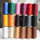 DIY 284 Yard 1mm Waxed Wax Thread String Linen Thread Cord for Leather Stitching