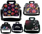 "10"" to 17.6"" Netbook Laptop Case Bag Cover Pouch With Handle & Shoulder Strap"