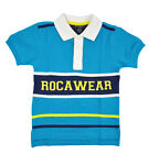 Rocawear Boys River Blue & Navy Blue Polo Size 4 5/6 7 7X $32