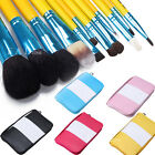 Makeup Brush Set Goat Hair Leather Bag Pen  Foundation Blush Eyeshadow Lip Tool