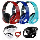 Earphones over-ear 3.5mm Foldable Stereo Headset Headphone for Mobile iPhone PC