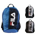Fila Backpack/Rucksack, Medium, Laville, Black, Navy,XS13ESU014,Polyester