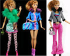 3-5pcs Set Red Heart Pink Barbie Dolls' Clothes Pants Outwear Shoes Dress Skirts