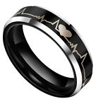 Tungsten Carbide Rings Couple Matching Wedding Band Rings Gifts for Men Women