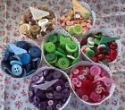 ♥ BUTTON MIX - 75g BAG ♥ COLOUR CHOICES ♥