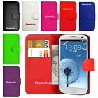 Flip Leather Wallet Case Cover For Samsung Galaxy S3 4 5 6...