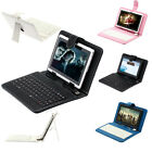 "Multi-Color iRulu 7"" Tablet PC 16GB Dual Camera Android 4.1 A9 Bundle Keyboard"