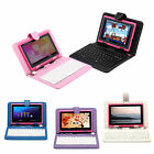 "8GB iRulu 7"" Google Android 4.2.2 Jelly Bean Capacitive Tablet WiFi + Keyboard"