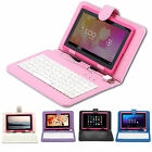 "16GB iRulu 7"" Google Android 4.2 Tablet PC Dual Core Camera WiFi Pink + Keyboard"