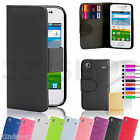 Kyпить Samsung Galaxy Ace 2 PU Leather Filp Wallet Card Case + Screen Protector& Stylus на еВаy.соm