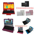 Leather Case+Bluetooth Keyboard for Samsung Galaxy Note 10.1 & Note 2014 Edition