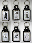 Medallion Key Rings - Dog Breeds - Labrador to Yorkshire Terrier, Great Gift