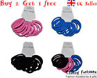 Buy 2 get 1 free Girls Hair Bands set Quality Endless Snag Free Elastics Bobbles