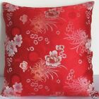 Cushion Cover (Dull Silver Chrysanthemum)Custom Made Chinese Brocade Pillow Case