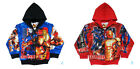 Marvel Avengers IRON MAN Jacket Coat Top Boys Kids Clothes NEW Age 3-8 Years