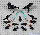 LEGO Star Wars - PICK YOUR WEAPONS - Lightsaber Gun Rifle Pistol Lot Army Clone