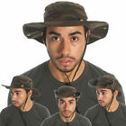 Dickies Bucket Hats w/ String Cotton Snapup Outback Fishing Hat Camo Olive