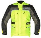 G-Mac Pilot Cordura Waterproof Windproof High Viz Motorcycle Jacket CE Protector