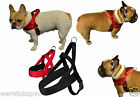 Trixie Norwegian Premium Soft Padded Dog Comfort Robust Harness Black or Red