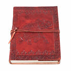 Medieval Etching Leather Journal Diary Collectible  Soft Paper (6 Styles)