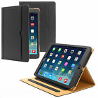 Soft Leather Wallet iPad Smart Case Cover Sleep / Wake Stand for APPLE iPad