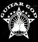 Guitar God T-Shirt Guitarists Rock Hard Metal Ideal Gift Unique Design Gig Shirt
