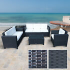 Rattan Garden Furniture Set Weave Wicker Sofa Chair Table Patio Conservatory