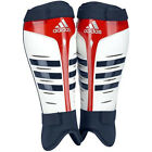 NEW ADIDAS ADISTAR HOCKEY SHIN GUARD WHITE RED SHIN PROTECTOR TEAM GB SHIN PAD