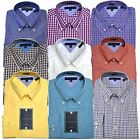 Tommy Hilfiger Dress Shirt Slim Fit Mens Buttondown Collar Solid Striped Fitted