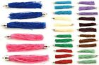 On-Trend Textile Tassels ♥ Crafts Sewing & Jewellery Making ♥ 90mm ♥ lady-muck1