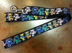 DOG COLLAR LEASH BAT SPIDER SUPER MAN HERO GRATEFUL DEAD BEAR SKULL SYF DISNEY